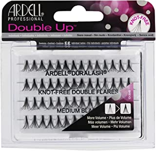 Ardell Double Individuals Knot Free Double Flares Black Med (3 Pack)