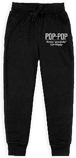 Yuanmeiju Fathers Day Pop Boys Pantalones Deportivos,Pantalones Deportivos for Teens Boys Girls