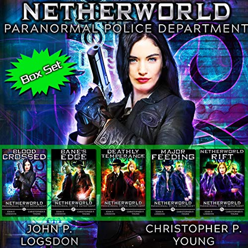 Netherworld Paranormal Police Department - Box Set: Books 1-5  By  cover art