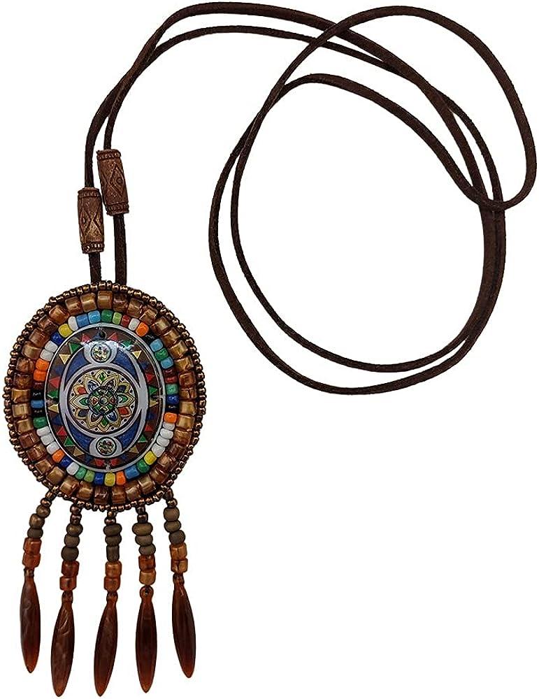 Bohemian Multicolor Braded Necklace