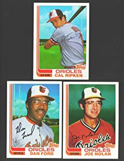 1982 Topps Traded - BALTIMORE ORIOLES Team Set w/CAL RIPKEN C