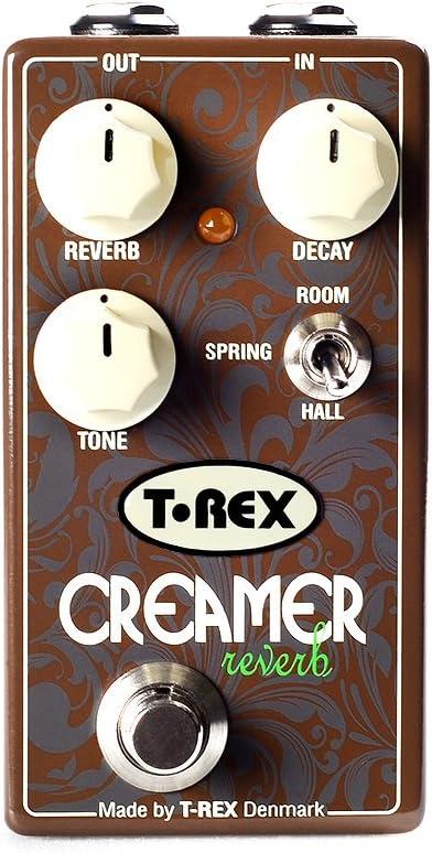年中無休 T-Rex Engineering CREAMER Reverb Guitar R Effects (訳ありセール 格安) Provides Pedal