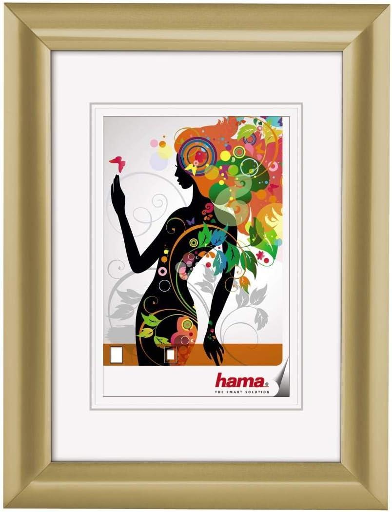 Hama Malaga 正規品送料無料 Gold 40x50 開店記念セール 58521 Frame Plastic
