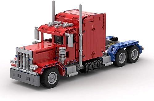 Batop 845 Pièces Blocs de Construction Kit de Camion, Figurine Véhicule Militaire Compatible avec Les Blocs de Construction Militaire Lego