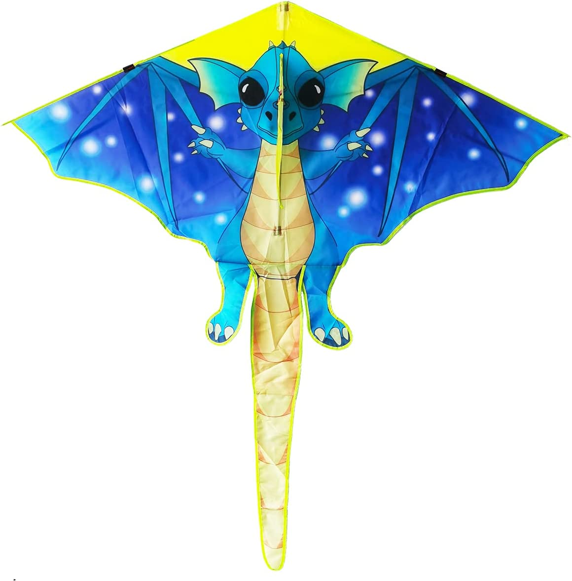 Kaidenic 57inch Dragon Cheap SALE Start Kite with Flying Ki Lines Fly for to Daily bargain sale Easy