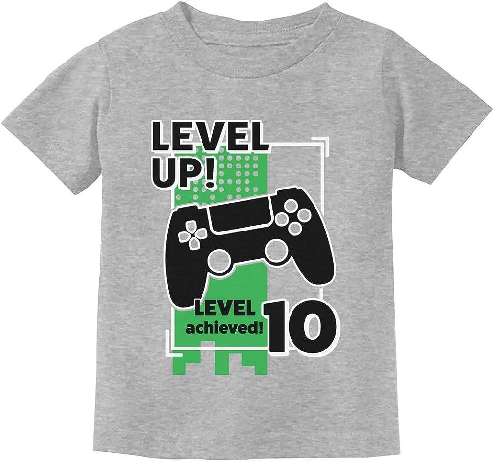 Gamer Birthday Superior Shirt Luxury Level Up Video Kid Game Youth 10th
