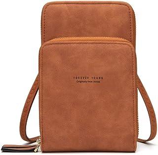 Women Small Crossbody Phone Bag Cell Phone Wallet Purse Mini Shoulder Bag Purses and Handbags