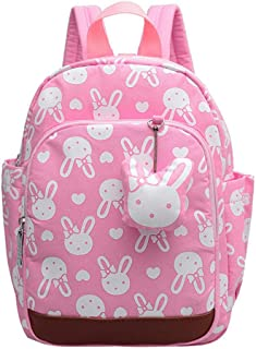 Backpack for Toddler Kid Boy Girl Perfect Size for Preschool Cute Bear Print Kindergarten Mini Backpack