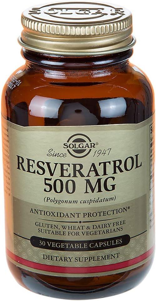 Resveratrol Antioxidant Some reservation 500 MG 30 El Paso Mall Vegetarian Capsules