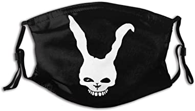Gibeauwlu Donnie Darko Face Face Mouth Mask Windproof Dust Protection Cover Scarf Bandana Men Woman
