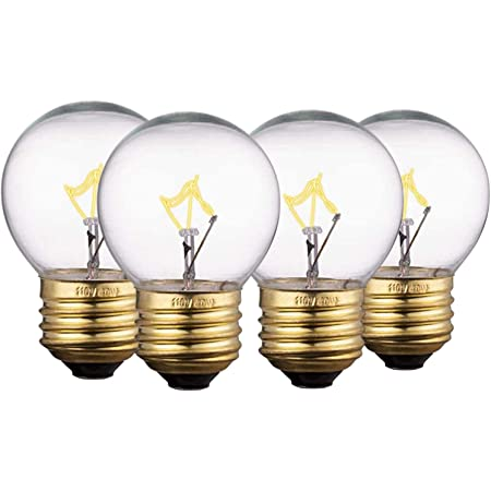Amazon Com Oven Light Bulb Appliance Bulb Fits With Maytag Ge Kenmore Whirlpool Oven Stove Range Hood Microwave And Refrigerator High Temp G45 E26 E27 Socket 40w Medium Brass Lead Free Base 4 Pack