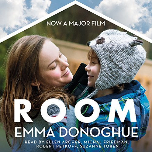 Room                   By:                                                                                                                                 Emma Donoghue                               Narrated by:                                                                                                                                 Michal Friedman,                                                                                        Ellen Archer,                                                                                        Suzanne Toren,                   and others                 Length: 10 hrs and 45 mins     1,290 ratings     Overall 4.4