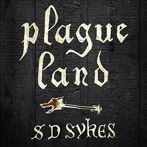Plague Land audiobook cover art