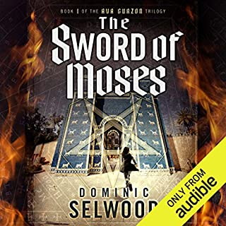 The Sword of Moses                   By:                                                                                                                                 Dominic Selwood                               Narrated by:                                                                                                                                 Mark Meadows                      Length: 29 hrs and 59 mins     105 ratings     Overall 4.0