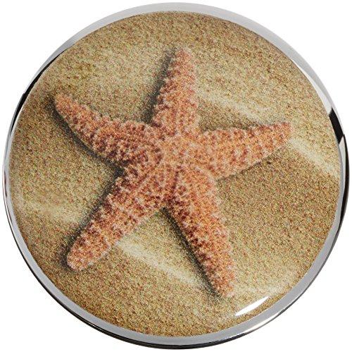 Plopp Waschbeckenstöpsel Seestern / Starfish, Stöpsel, Excenter Stopfen, für Waschbecken, Waschtisch, Abfluss