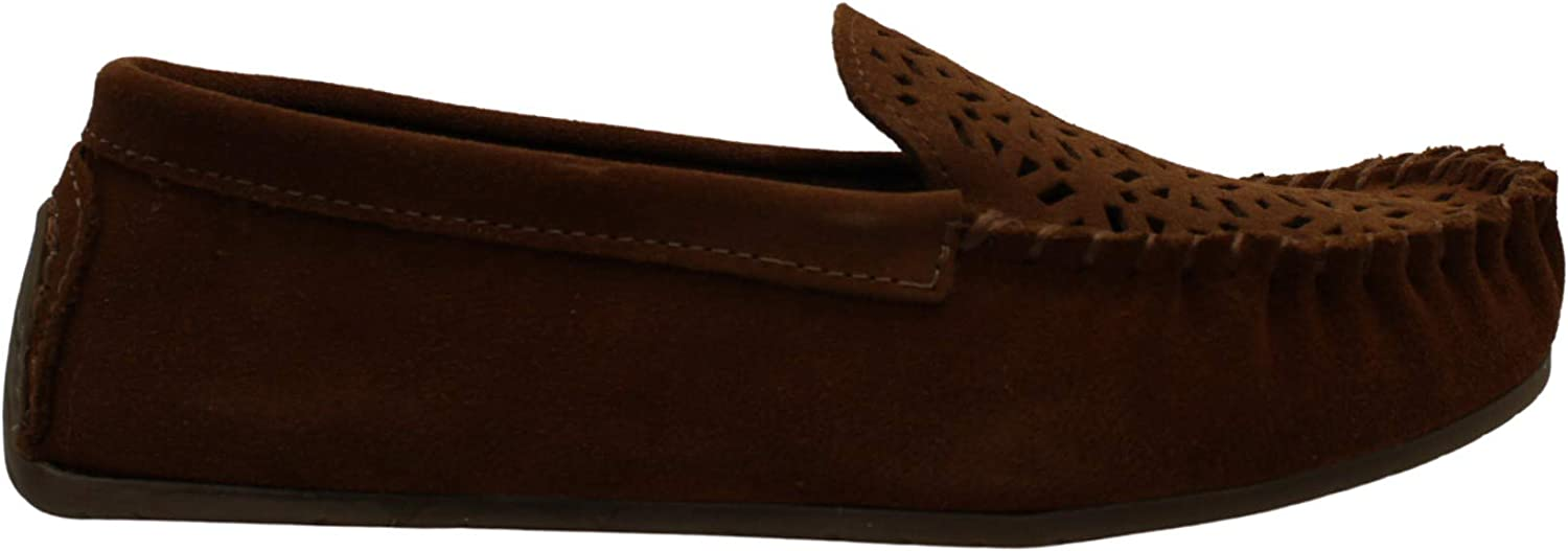 Minnetonka Womens At the price Sophia Suede Kansas City Mall Toe Closed Loafer