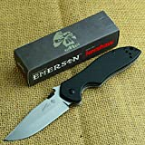 Knive&Knives haw Emerson CQC-6K 8Cr14MoV Stonewash Folding Knife 6034