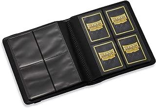 Black Dragon Shield Codex 4 Pocket Portfolio 8 160 Card Storage Binder
