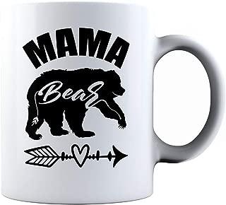 NeeNoNex Mama Bear Ceramic Mug - Mother's Day Gift - For Mom