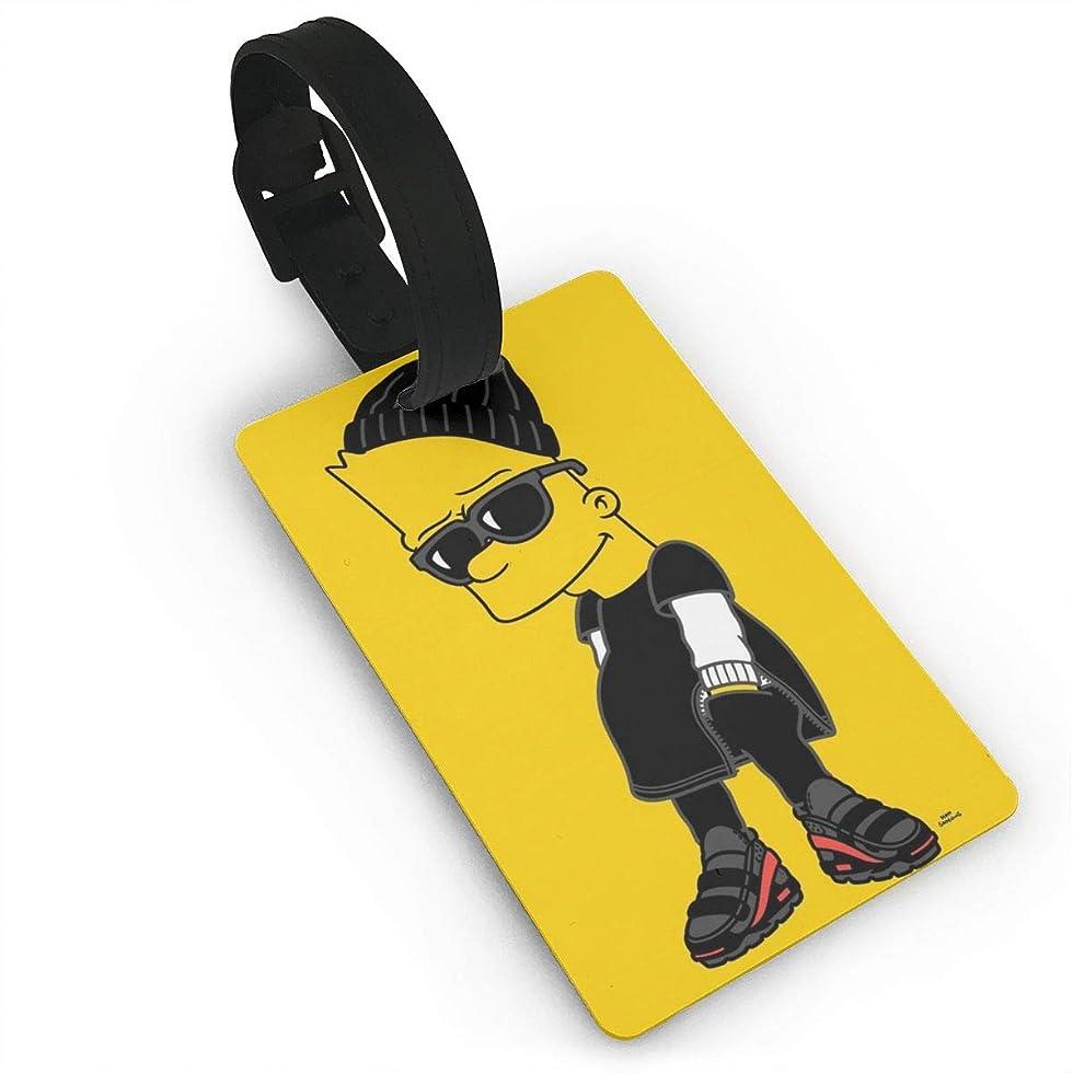 反応する平方億ザ?シンプソンズ ネームタグ 荷物タグ レザー スーツケース 出張用タグ ネームタグ 番号札 バッグ用ネームタグ レザー 旅行タグ トラベル用 旅行手荷物