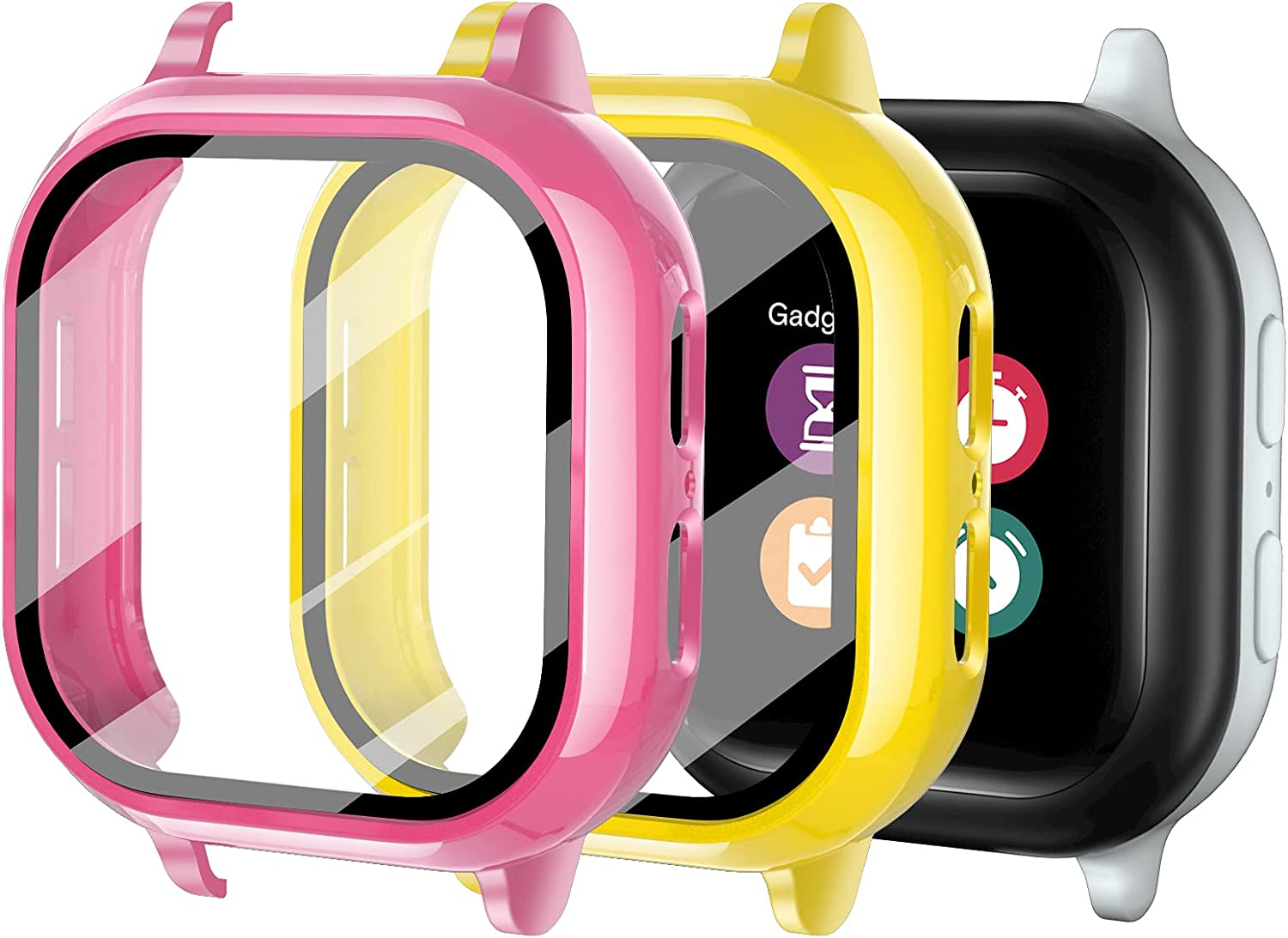 Upgraded Luxury 2Pack Gizmo Watch 2 for Screen Kids Temper Max 67% OFF Protector