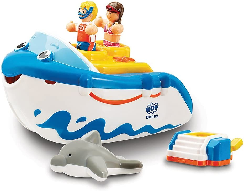 Wow Danny's Diving Adventure Challenge the lowest price Bath Play Set Toy Ranking TOP9 5-Piece