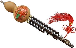 100% Flautas Hulusi Hechos a Mano de Madera de Bambú Chino #105