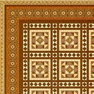 Melody Jane Dollhouse Miniature Victorian Tile Effect Paper Flooring 1:24 Scale