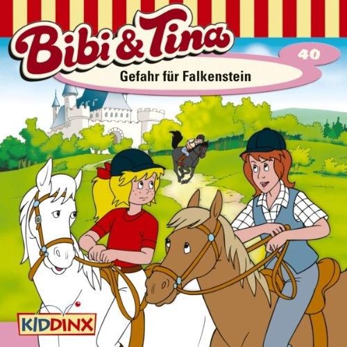Gefahr für Falkenstein (Bibi und Tina 40) audiobook cover art