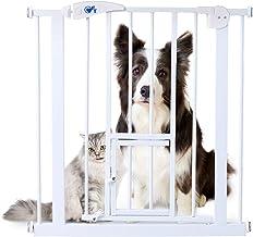 OFT オートロックゲート スタンダード 本体 ゲート高さ76cm ペット 犬 猫 ペット ゲート ベビーゲート フェンス ドア付き 小ドア付き 突っ張りタイプ 脱走 防止 柵 仕切り 片開き 両開き 可能 サイズ(約):幅70.5×奥3.7×高79cm 取り付け可能幅:75~82cm