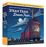 Goodnight, Goodnight, Construction Site and Steam Train, Dream Train Board Books Boxed Set: (Board Books for Babies, Preschool Books, Picture Books for Toddlers): 1
