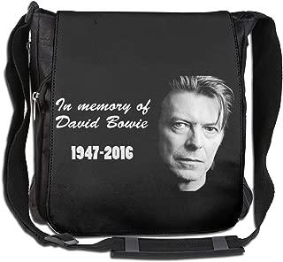 Messenger Bag - David Bowie 1947-2016 Shoulder Bag For All-Purpose Use