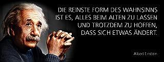 BlechschilderWelt tennskylt 27 x 10 cm med tysk text den reinste formen av Mahnsinns är allt när man är gammal zu Lüder st...