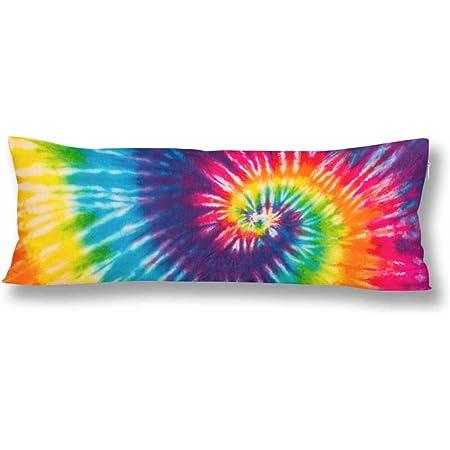 Standard Size Rainbow Tie DyeIce Dye Pillow Case