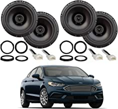 Compatible with Ford Fusion 2013-2019 Factory Speaker Upgrade Package Harmony R65 Speakers New
