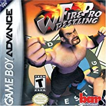 gameboy advance wrestling games