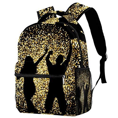 Daypack Orgía de Silueta Mochila Escuela Primaria Escuela Secundaria College para Niños Y Niñas 29.4x20x40cm