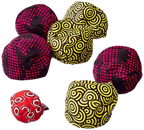 Zoch 601131500 Crossboule c³ Set Beach, der ultimative Boule Spaß mit flexiblen Bällen für drinnen und draußen, ab 6 Jahren