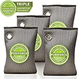 Best Air Purifiers For Cars - Coconut Charcoal Air Purifying Bag (7oz x 4Pack) Review