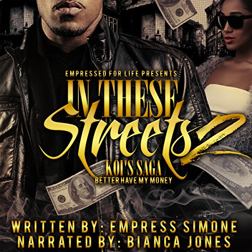 In These Streets 2: Koi's Saga audiobook cover art