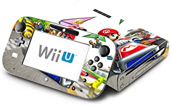 Super Mario Kart Decorative Decal Cover Skin for Nintendo Wii U Console and GamePad