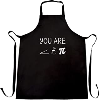 Ashasds Custom Chef Apron Funny Nerdy Chefs Apron You are Acute Tea Pie A Cutie Pun for Women Men Barber Kitchen
