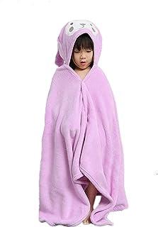 HUOCAI toalla de baño para niños, Toalla de bebé con capucha, Extra grande y absorbente Toalla de conejito para 0-6 años N...