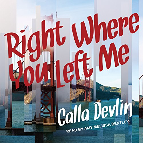 Right Where You Left Me audiobook cover art