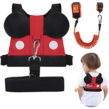 Child Leashes for Toddlers with Wrist Link Cute Children Safety Harness Leash Kid Wristband Assistant Strap Belt with Anti Loss Wrist Link Safety Wrist Link for Toddlers 1-3 Years Old Boys and Girls