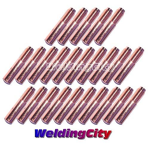 "WeldingCity 25-pk MIG Welding Contact Tip 000-067 (0.030"") for Miller Millermatic M-10 M-15 M-25 M-40 M-100 M-150 Hobart H-9 H-10 MIG Guns"