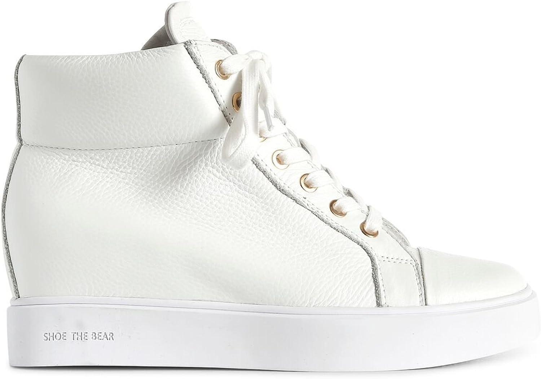 SHOE THE BEAR Women's Ava High Top in White