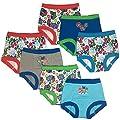 PJ Masks Boys' Toddler 7pk Potty Training Pant, PJ Marina Sky Assorted, 2T