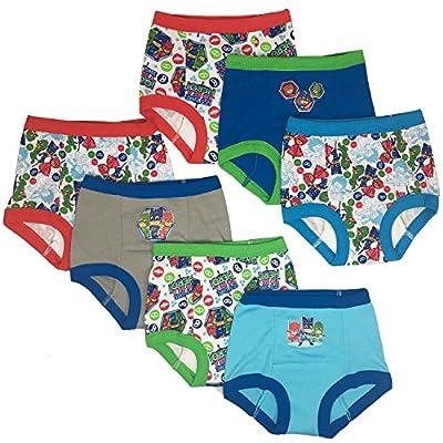 PJ Masks Boys' Toddler 7pk Potty Training Pant, PJ Marina Sky Assorted, 2T by PJ Masks
