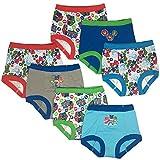 PJ Masks Boys' Toddler 7pk Potty Training Pant, PJ Marina Sky Assorted, 3T